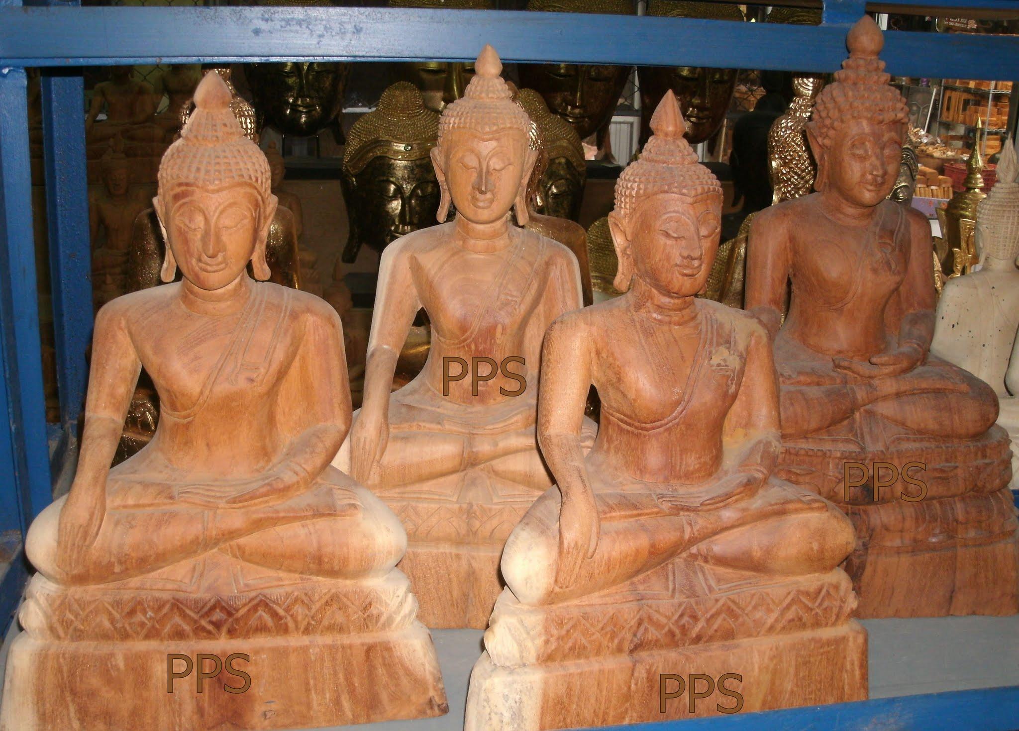Wood Buddha Image C4473-1