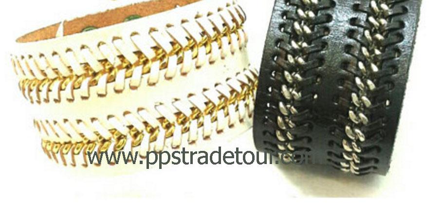 Leather Bracelet-N2