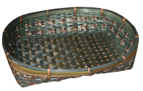 Bamboo flat basket PS-BB-16
