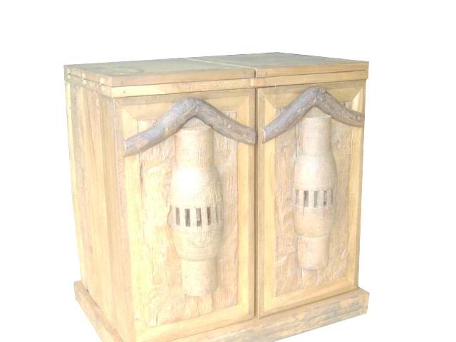 PS-Wood Shelf (sn307-1)