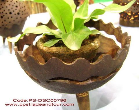 Coconut flower pot-PS-CC-111
