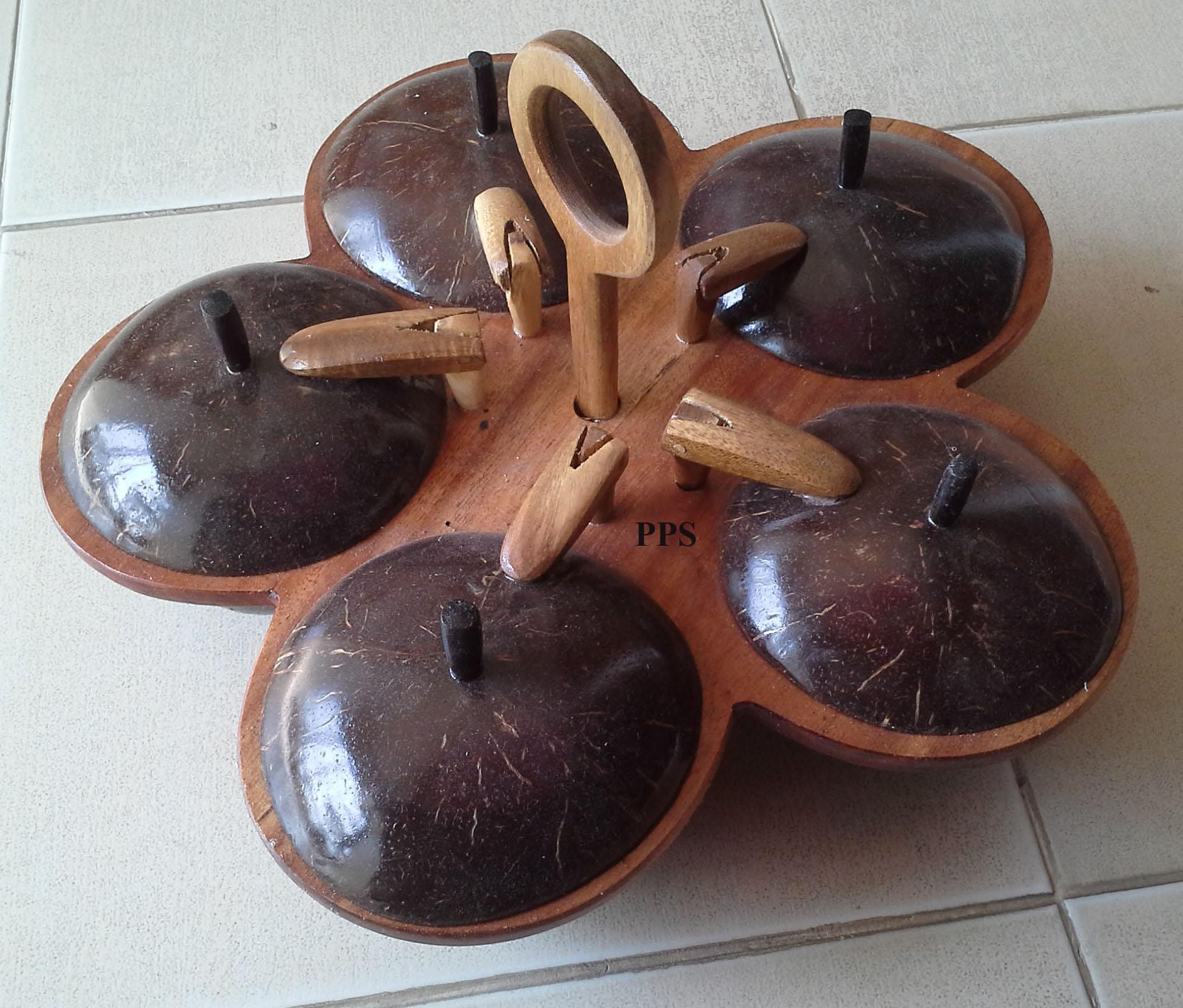 Coconut ingredient bowl set-CC-0110