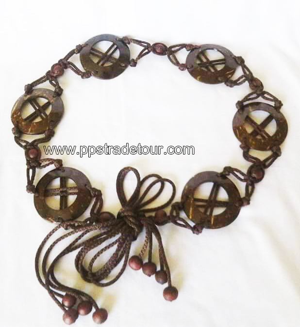 Coconut bead bracelet-5819