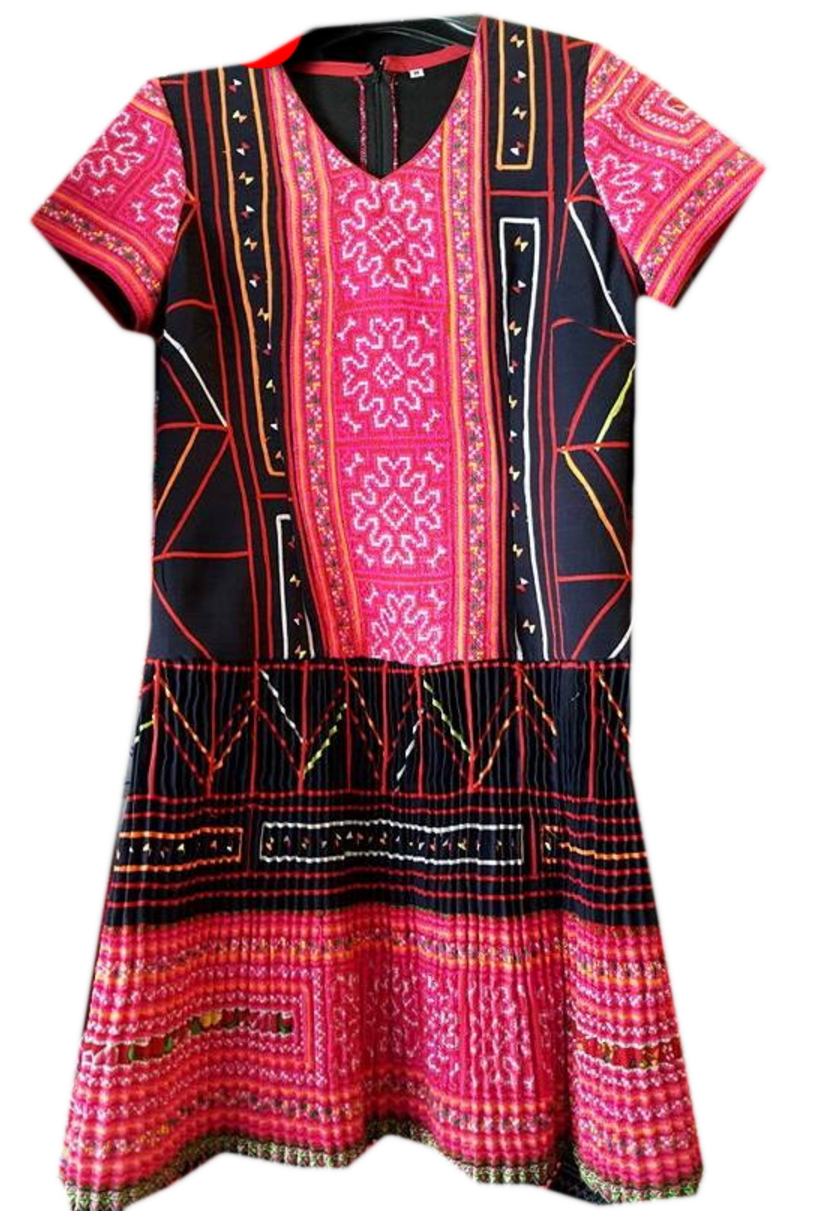 Tribal Patter Dress-15