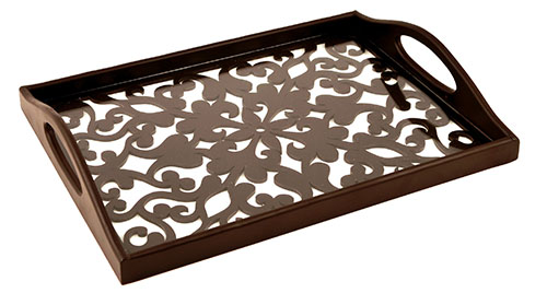 Carved Through Trays - Pattern