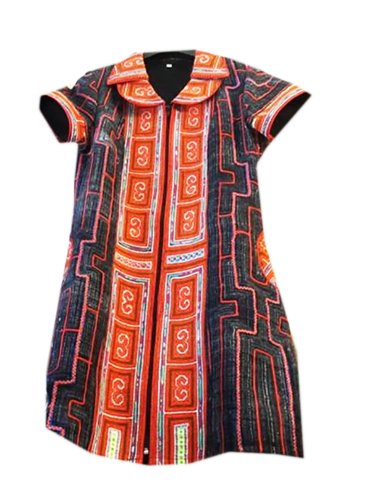 Tribal Patter Dress-11