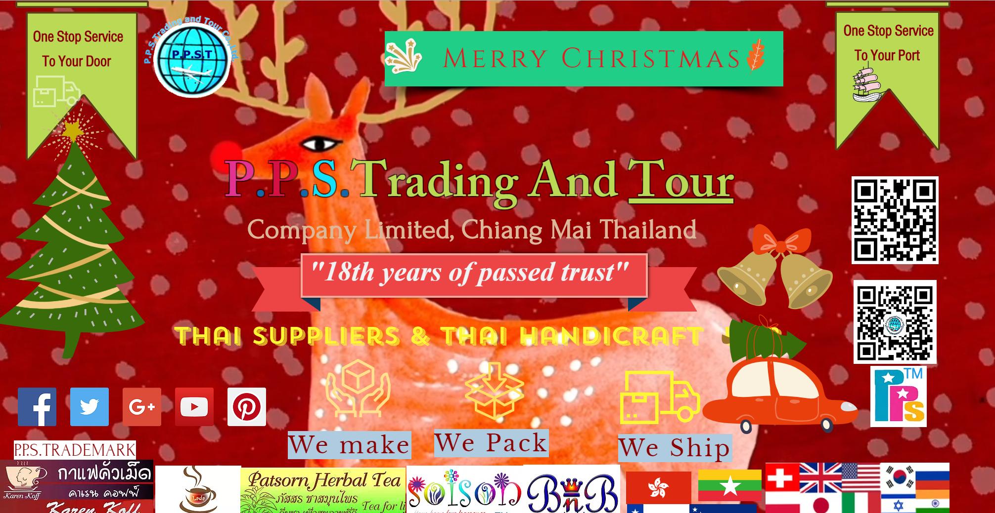 Thai goods supplier, Chiangmai, ppstradetour com