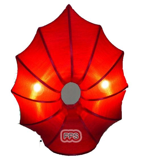 Silk Lamp lotus shape