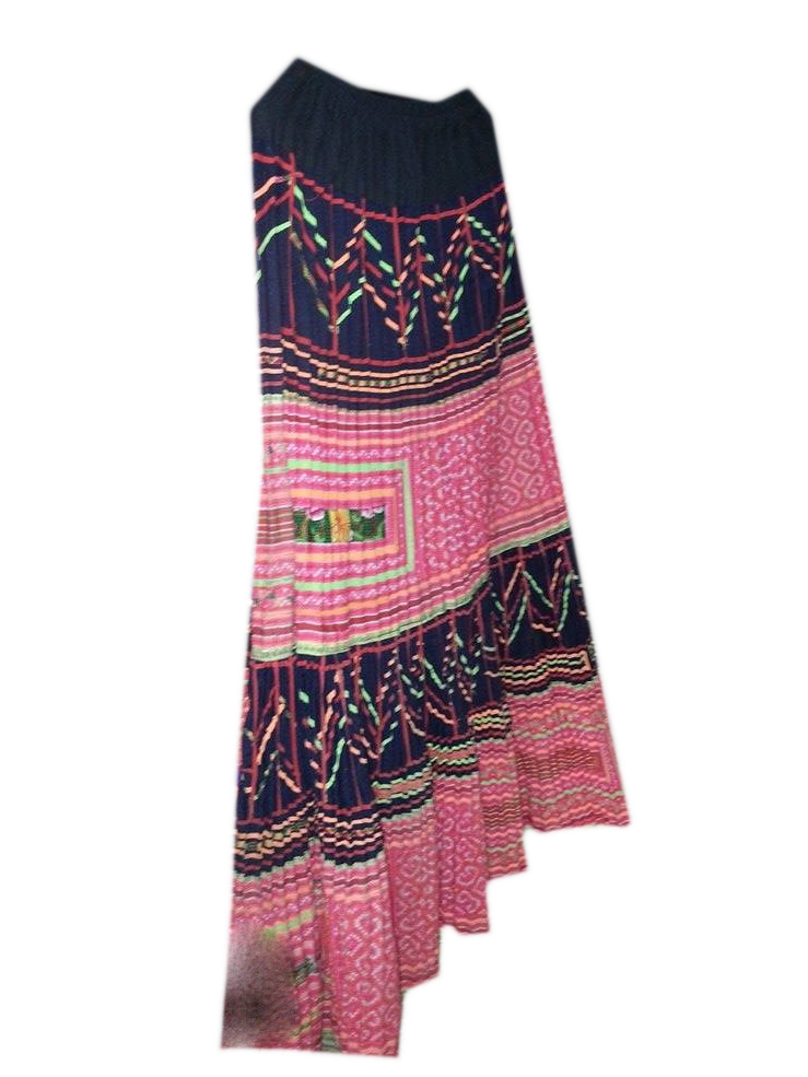 Tribal long skirt05