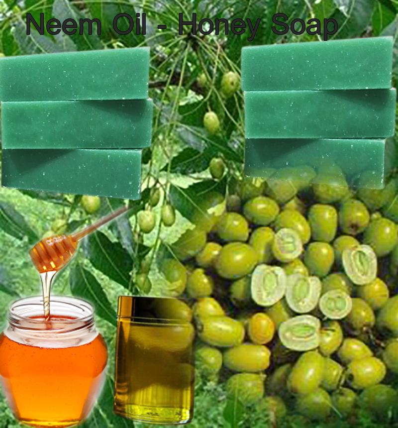 Neem Oil Honey Soap