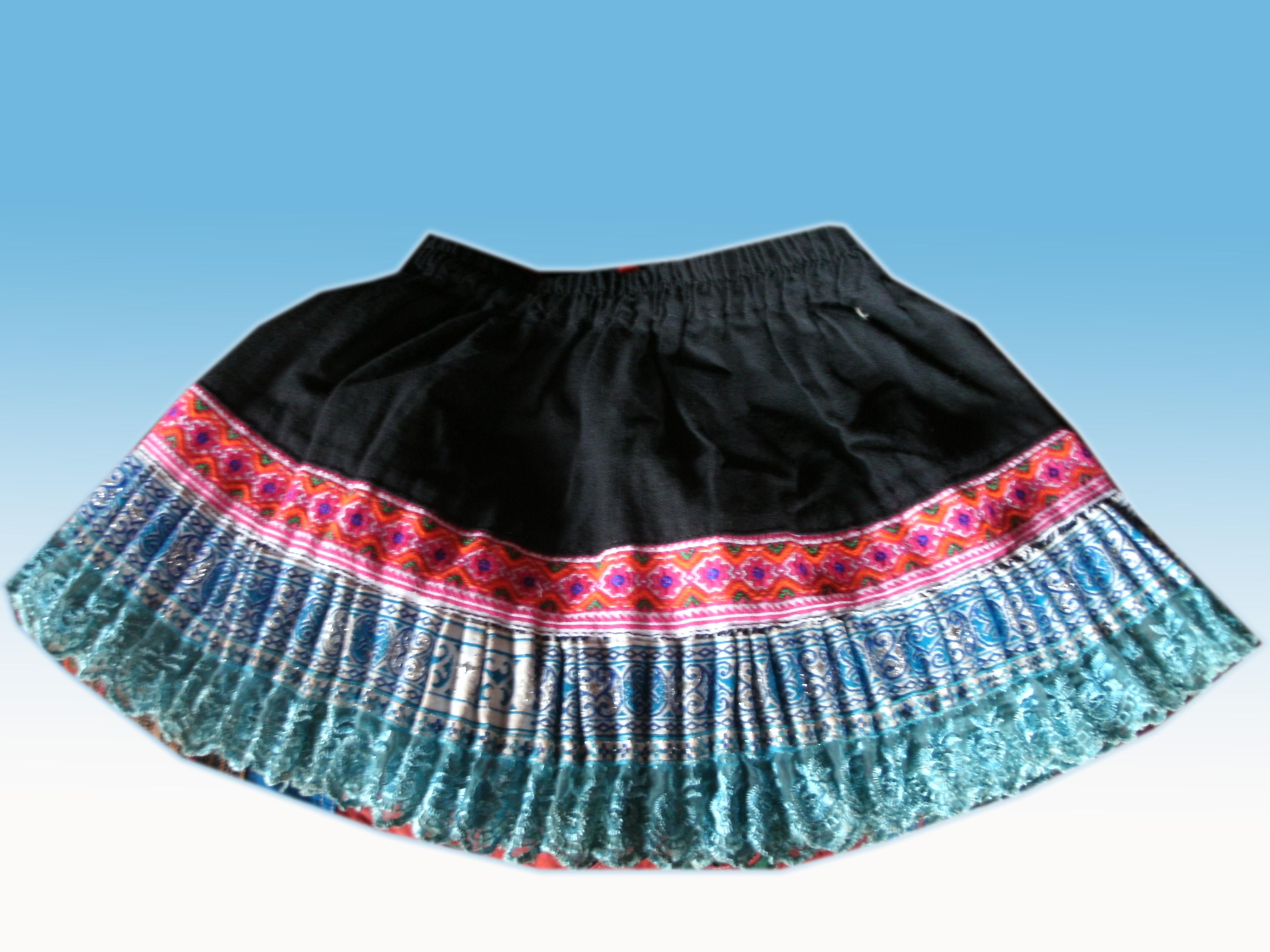 Tribal Girls Skirt-27