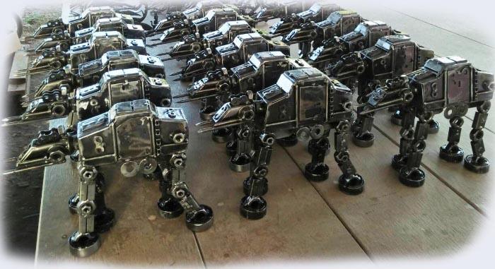 Recycle Metal Robot-15