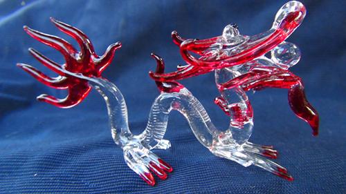 blown glass- Naga 3