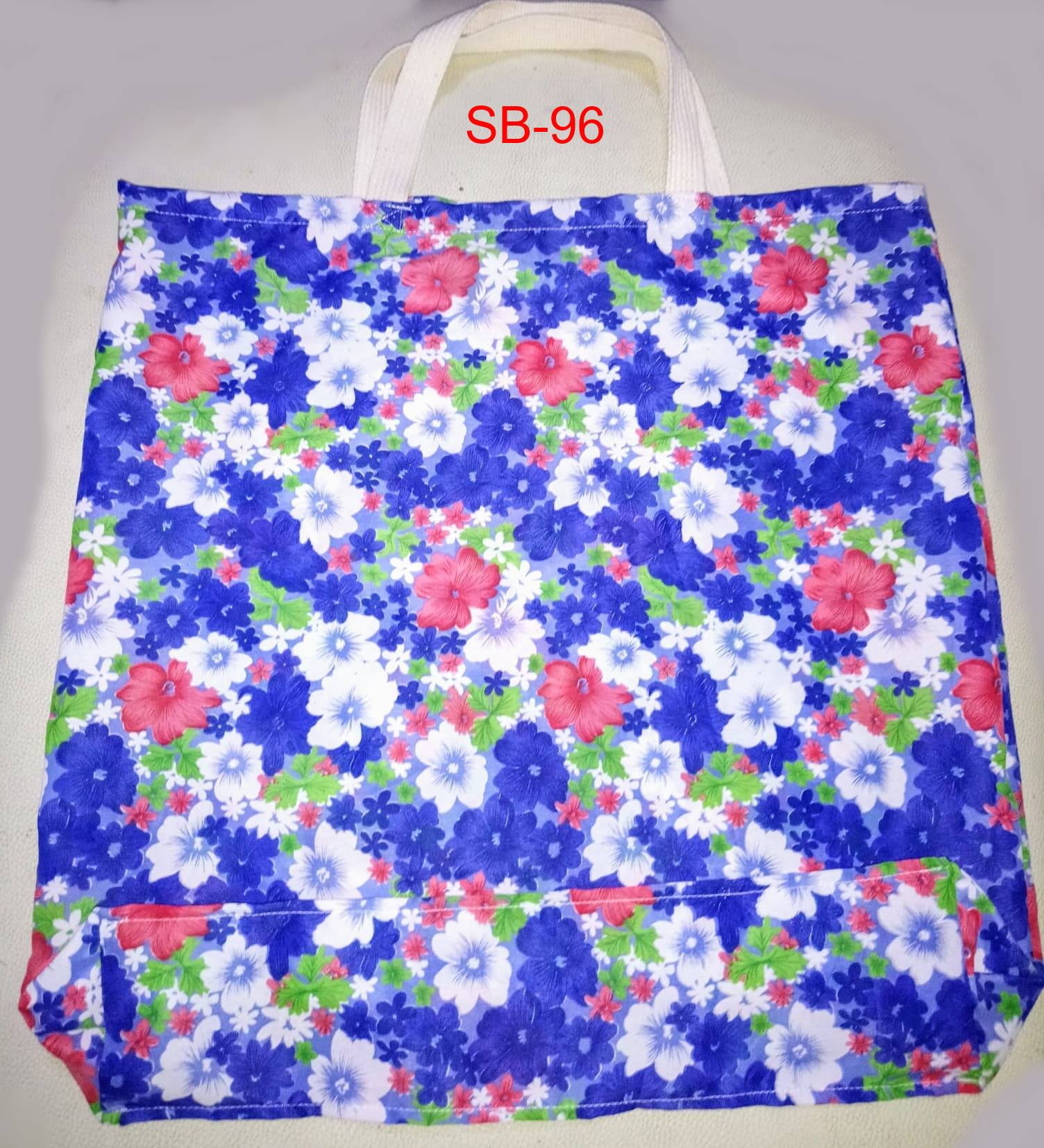 Satin Shopping Bag