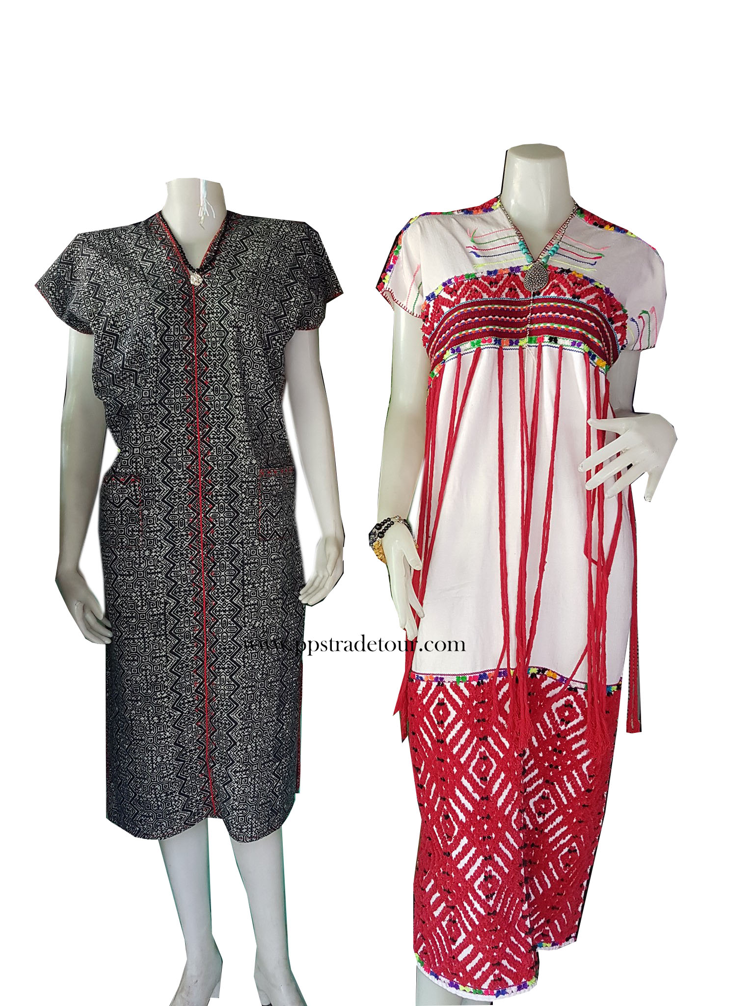 Tribal Long Dress-4-5