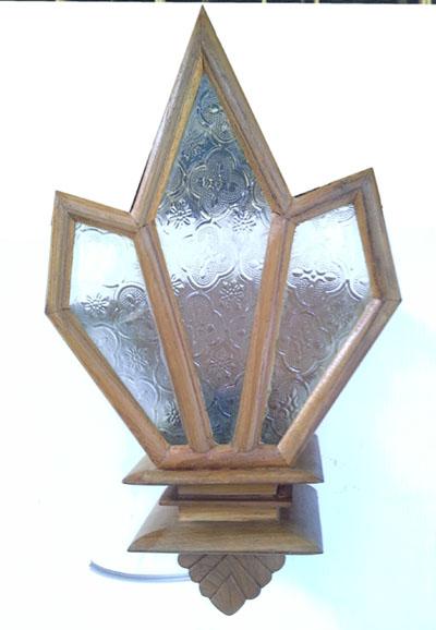 Teak Lamps 2260101-w