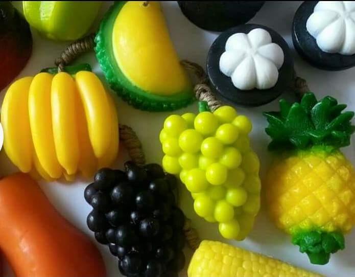 Bathing Soap, All fruit shape