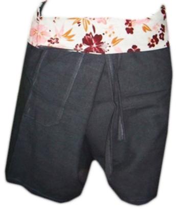 Short Cotton Trouser-G15