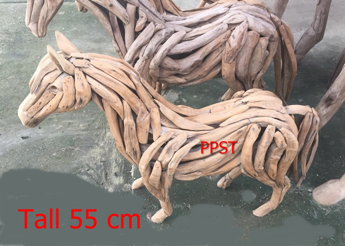 Driftwood Head Horse 36