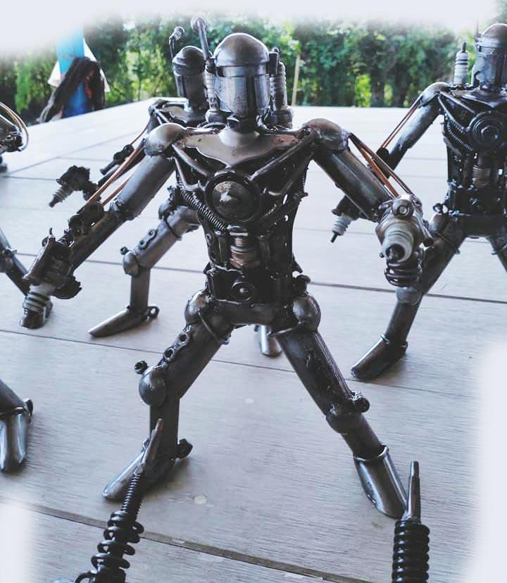 Recycle Metal Robot-28