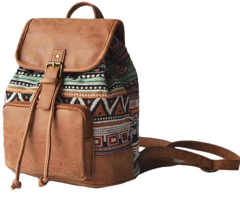 Tribal Pu Backpack-2
