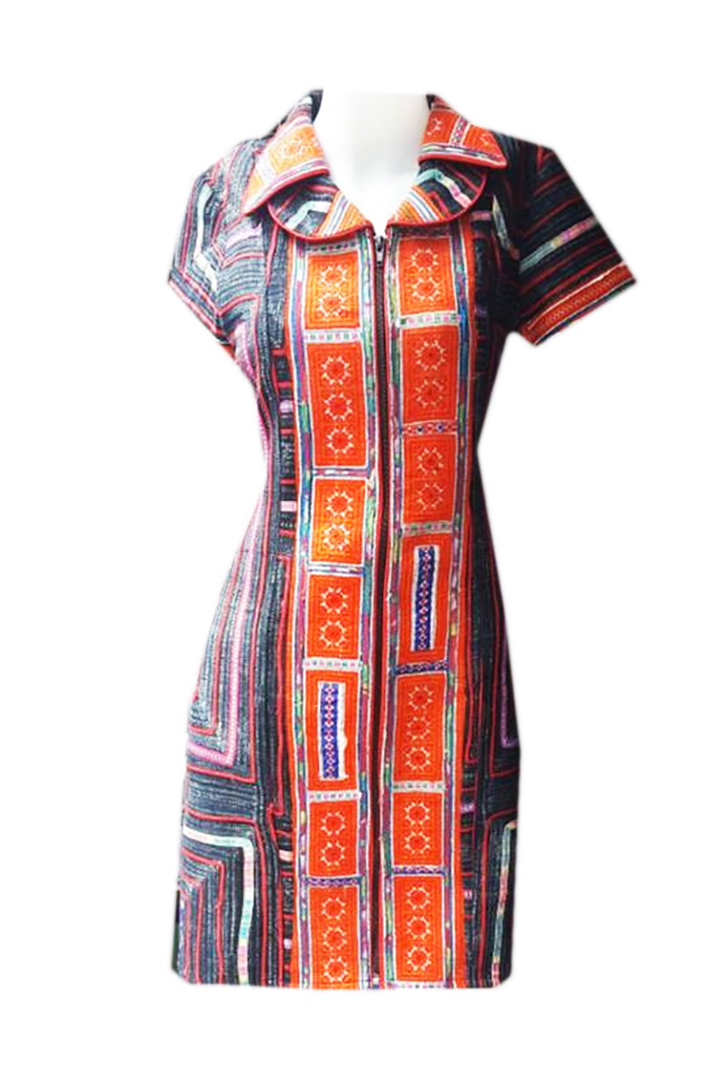 Tribal Patter Dress-13