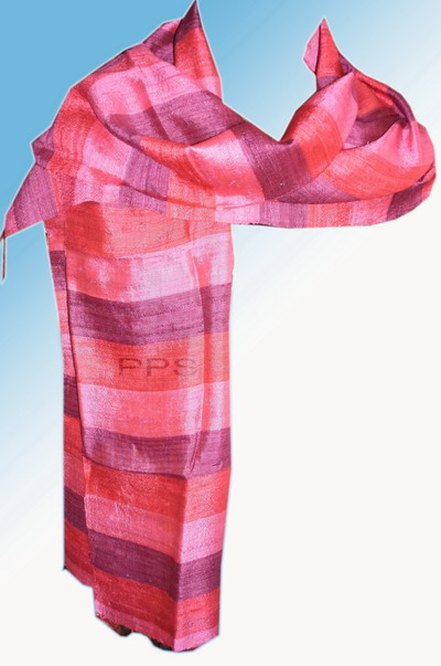 Row Silk Scarf-01
