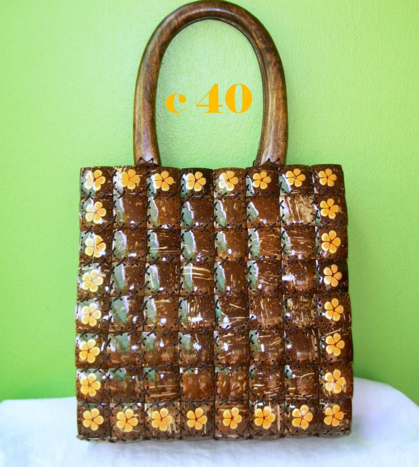Coconut Shell bag-104