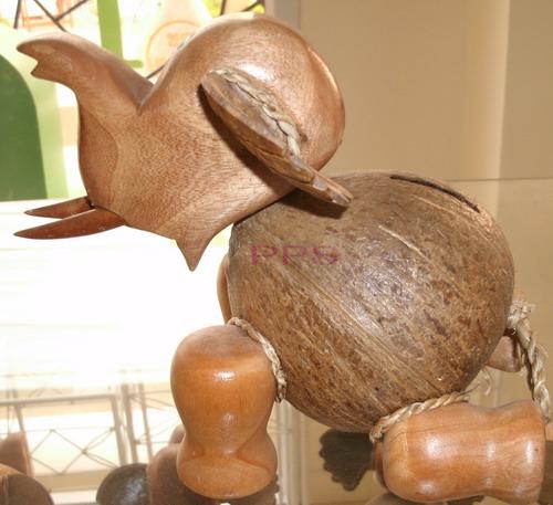coconut shell saving doll-elephant baby