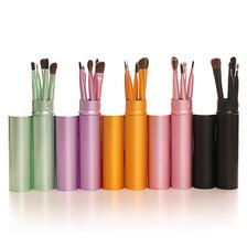 Professional Eyeshadow Brush Set 5pcs Makeup Eyeliner Eyebrow Brush Lip Kit Portable Makeup Brush Set