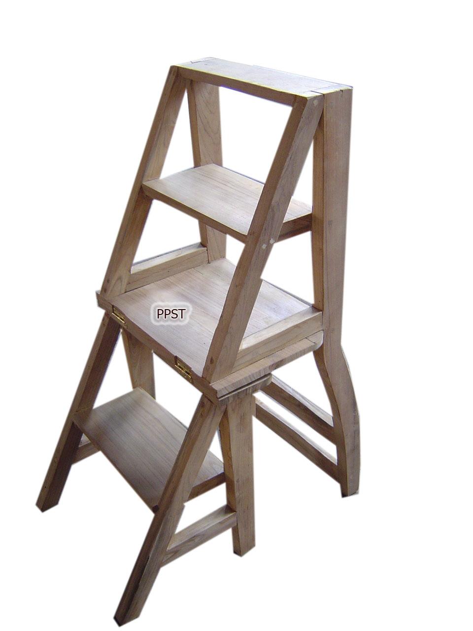 Antique ladder-sn057-2