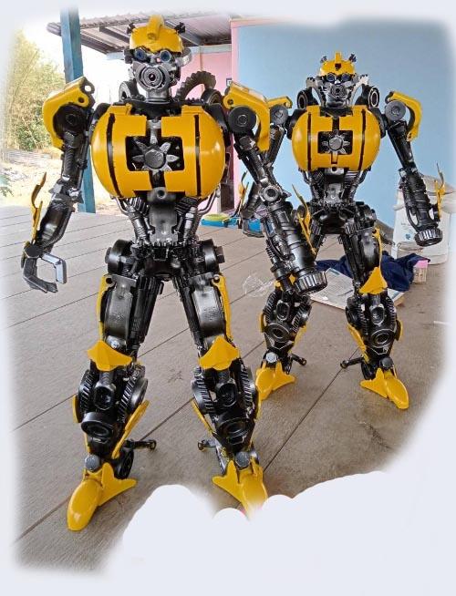 Recycle Metal Robot-4