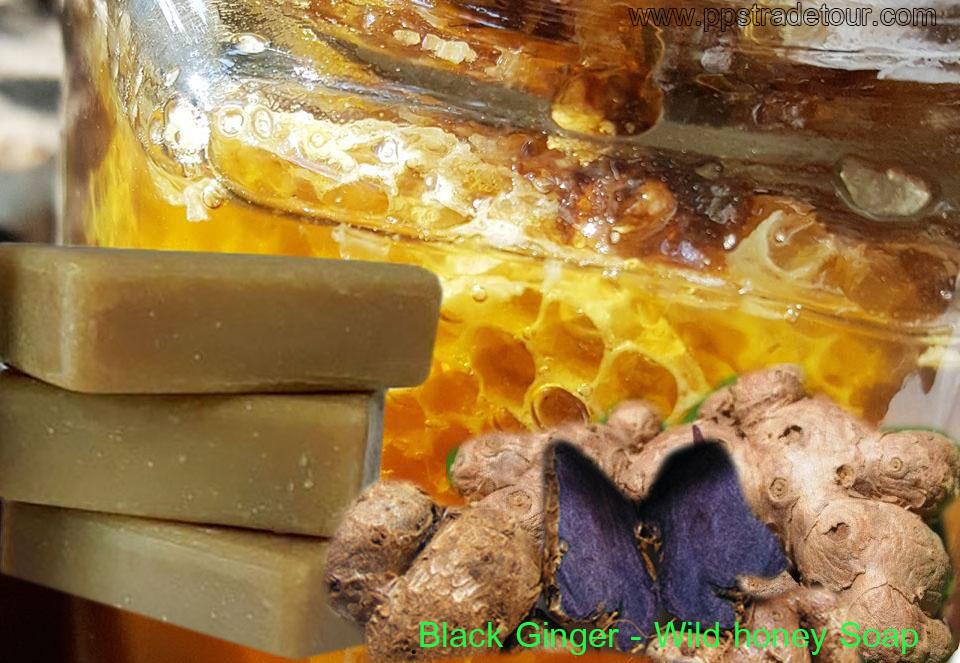 Black Ginger Wild Honey soap (2)