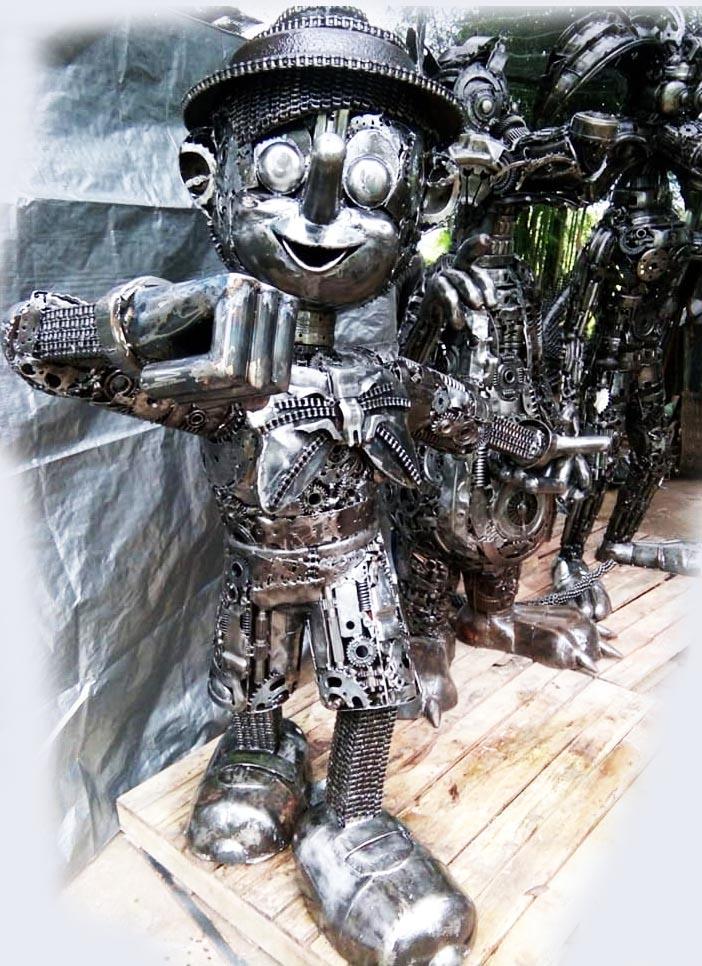 Recycle Metal Robot-25