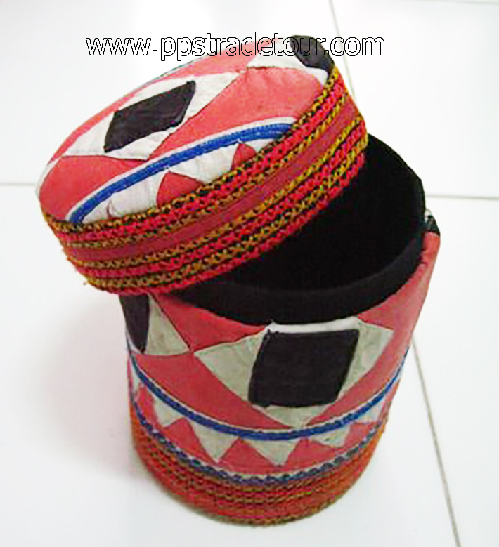 Tribal Style Fabric Box