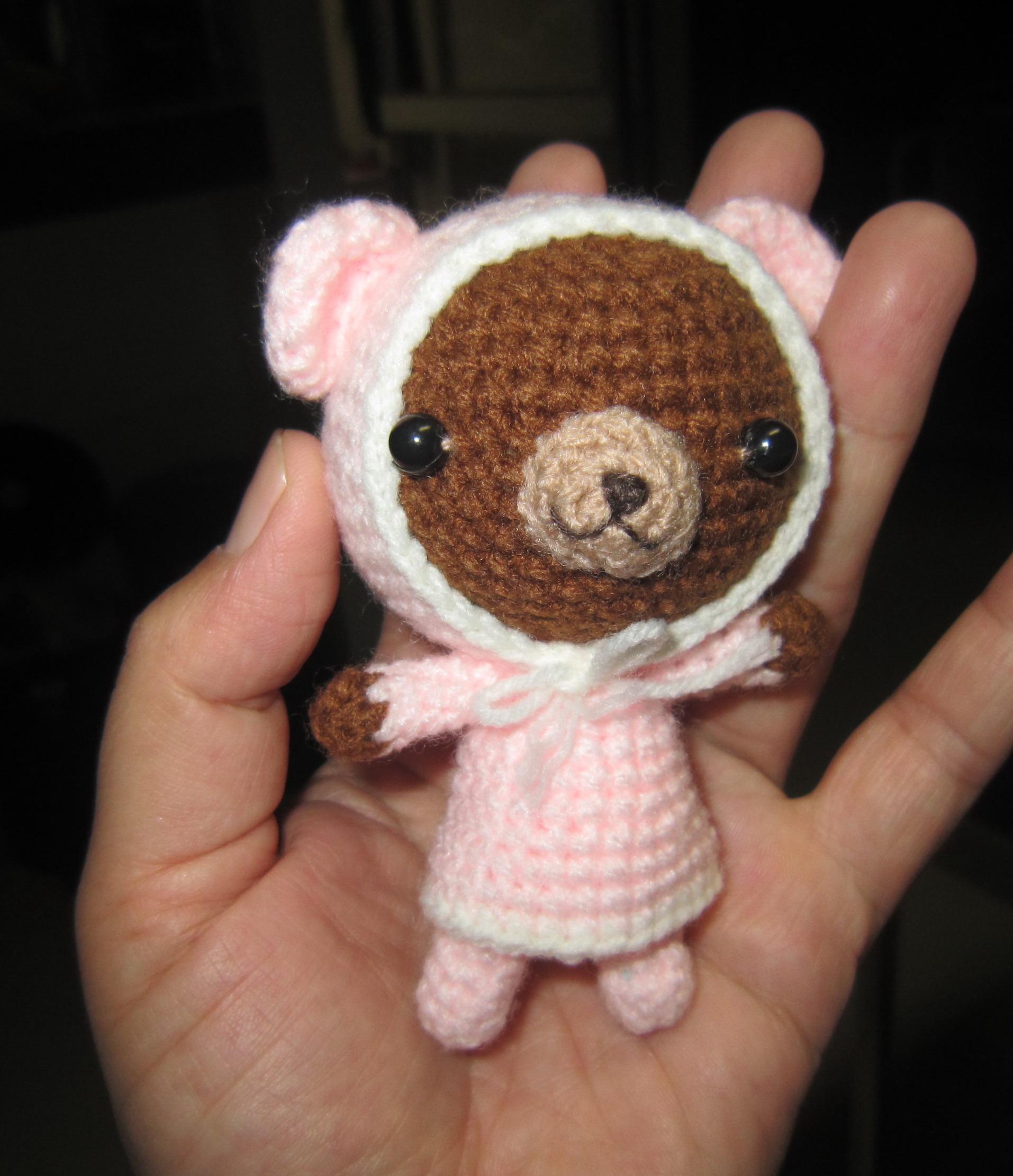 Crochet Doll Keyring-IMG_3250