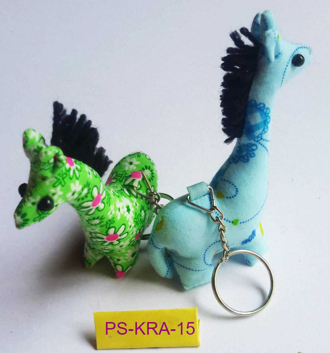 Cotton horse keyring-PS-KRA-15
