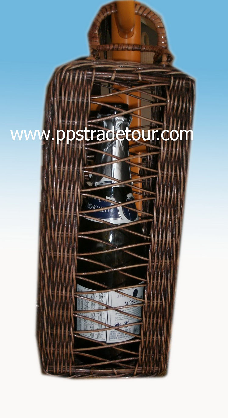 Rattan Basket wine holder1920