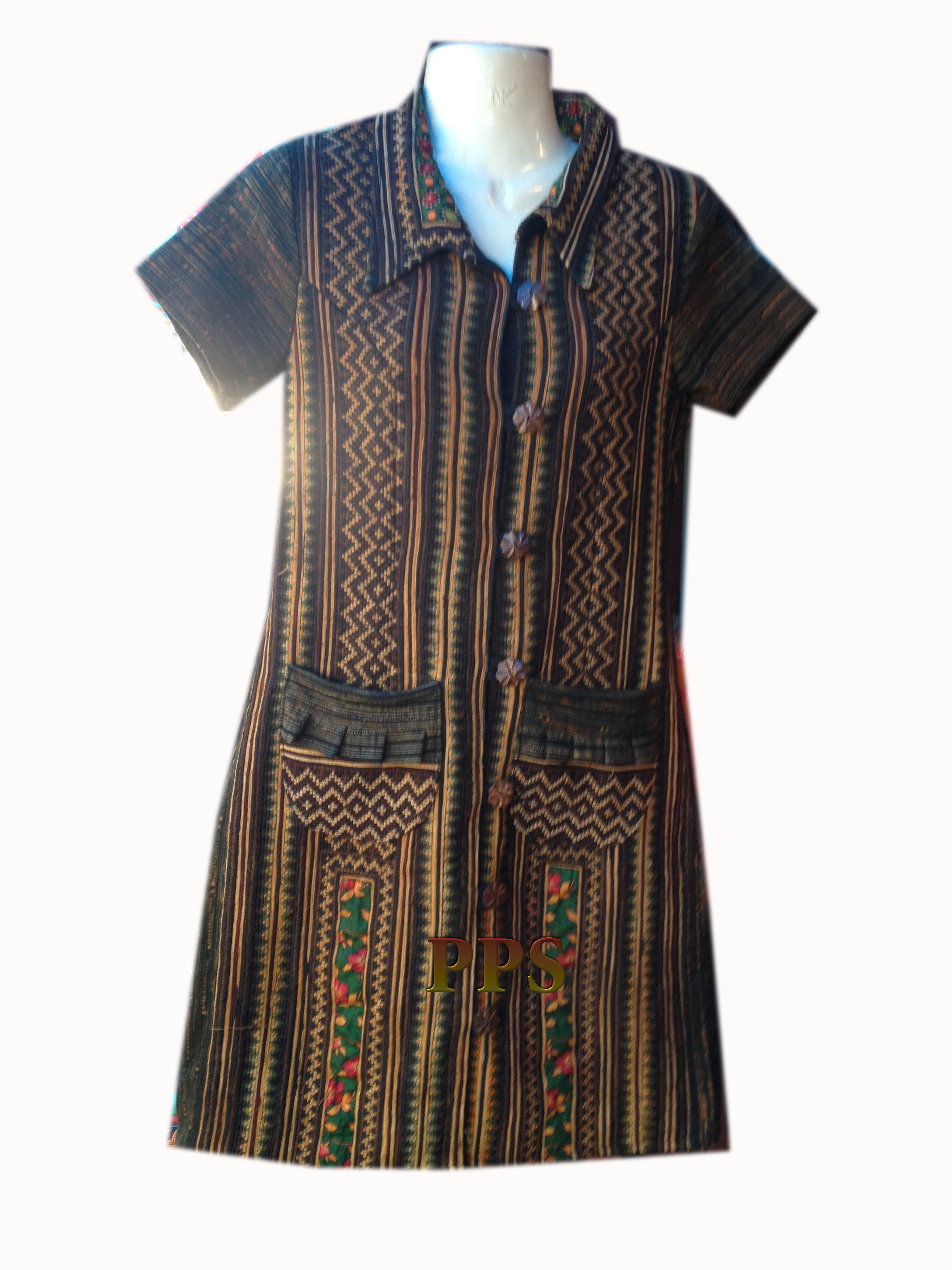 Tribal Pattern Dress-8