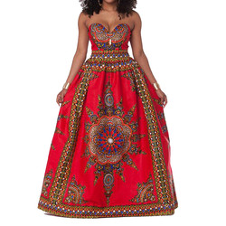 mazon supplier african traditional print bridesmaid kiteng dresses kitenge dress designs and skirts