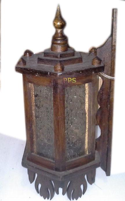 Teak Lamps 360103