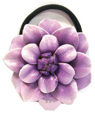 Leather Flower for hair band-h7