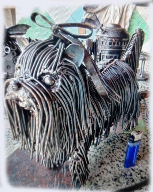 Recycle Metal Robot-dog