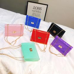 G060 fashion 2020 women small ringer square bags pvc ziplock used handbags women bag