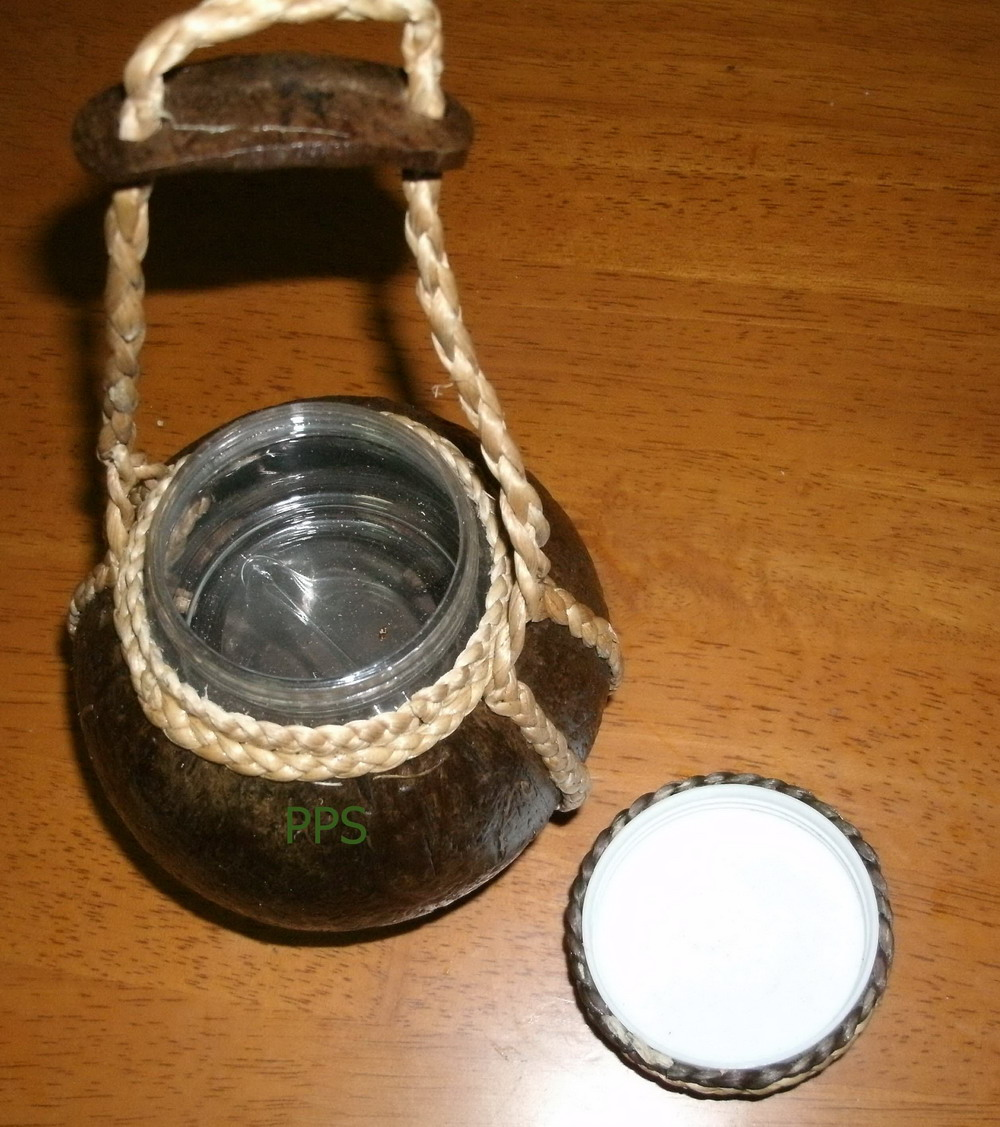 Coconut Shell Bottle