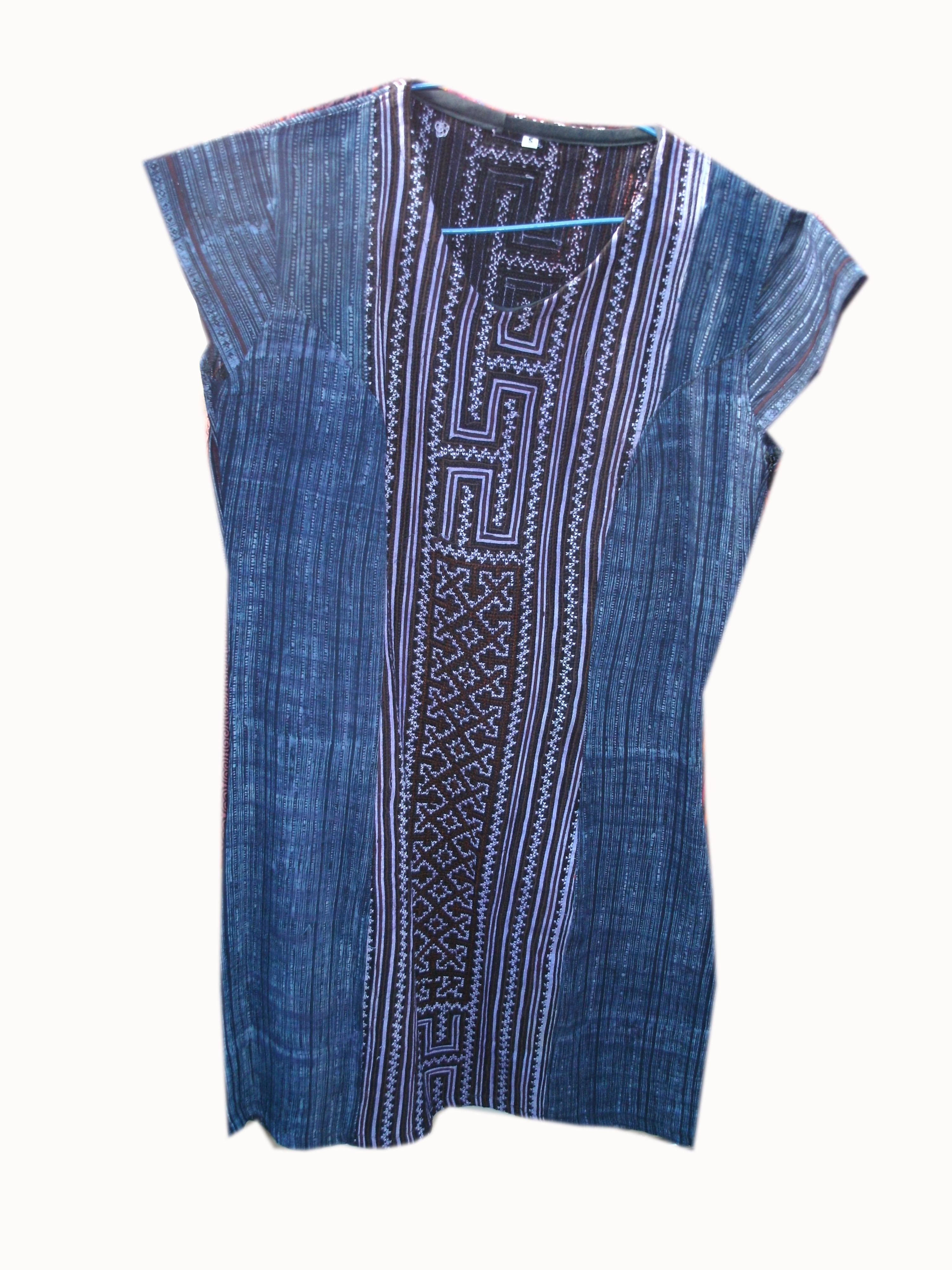 Tribal Pattern Dress-9
