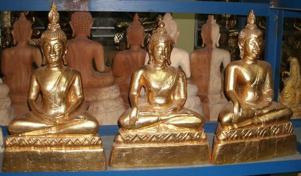 Wood Buddha Image-C4486-11