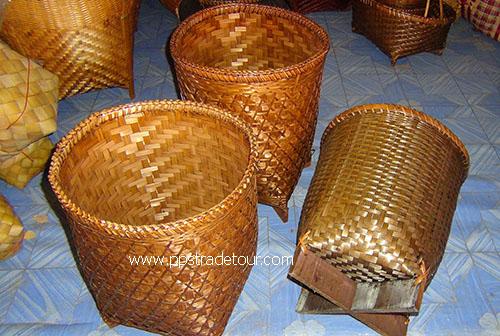 Bamboo basket PS-BB-03