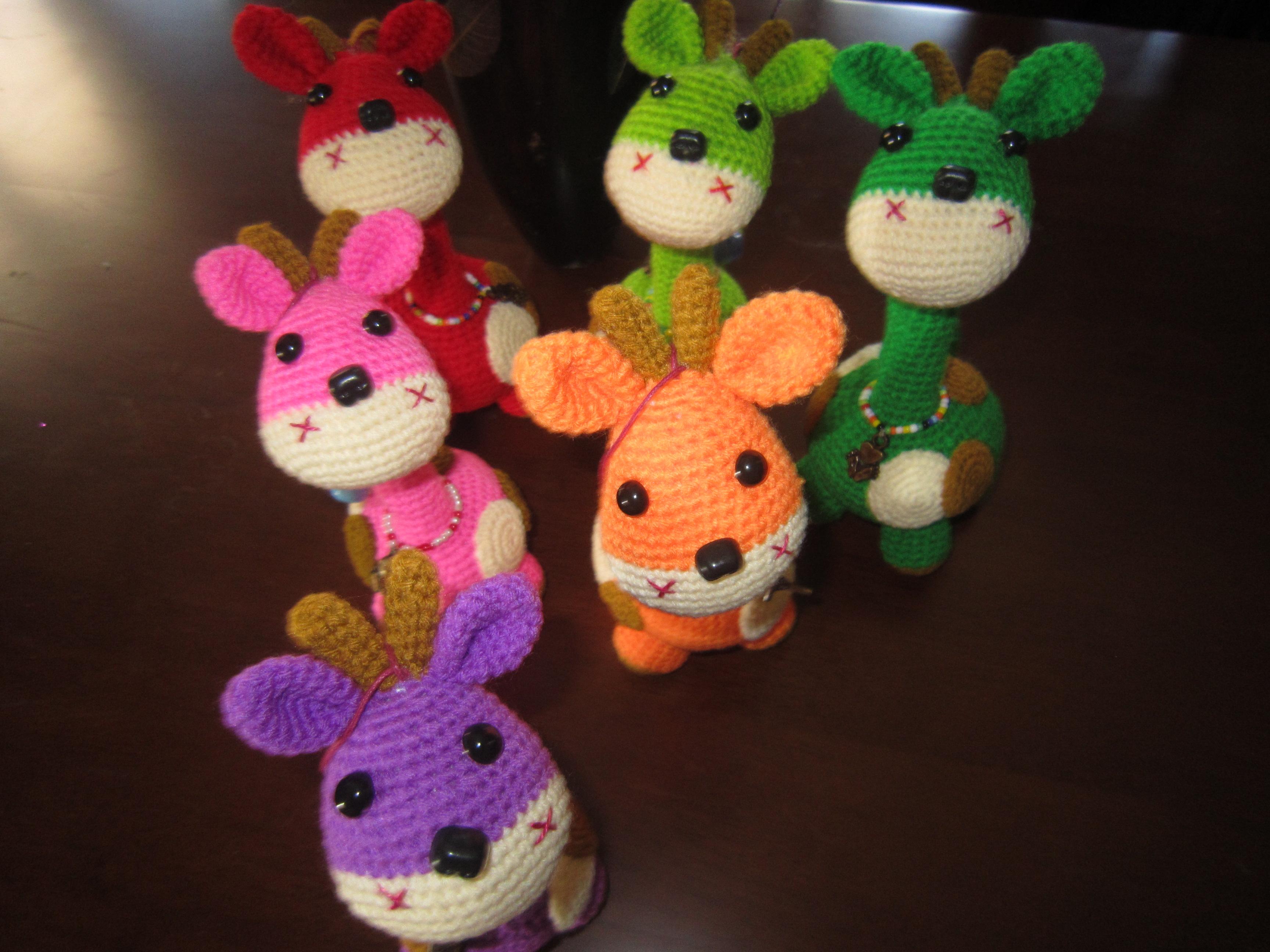Crochet Doll Keyring-IMG_3919