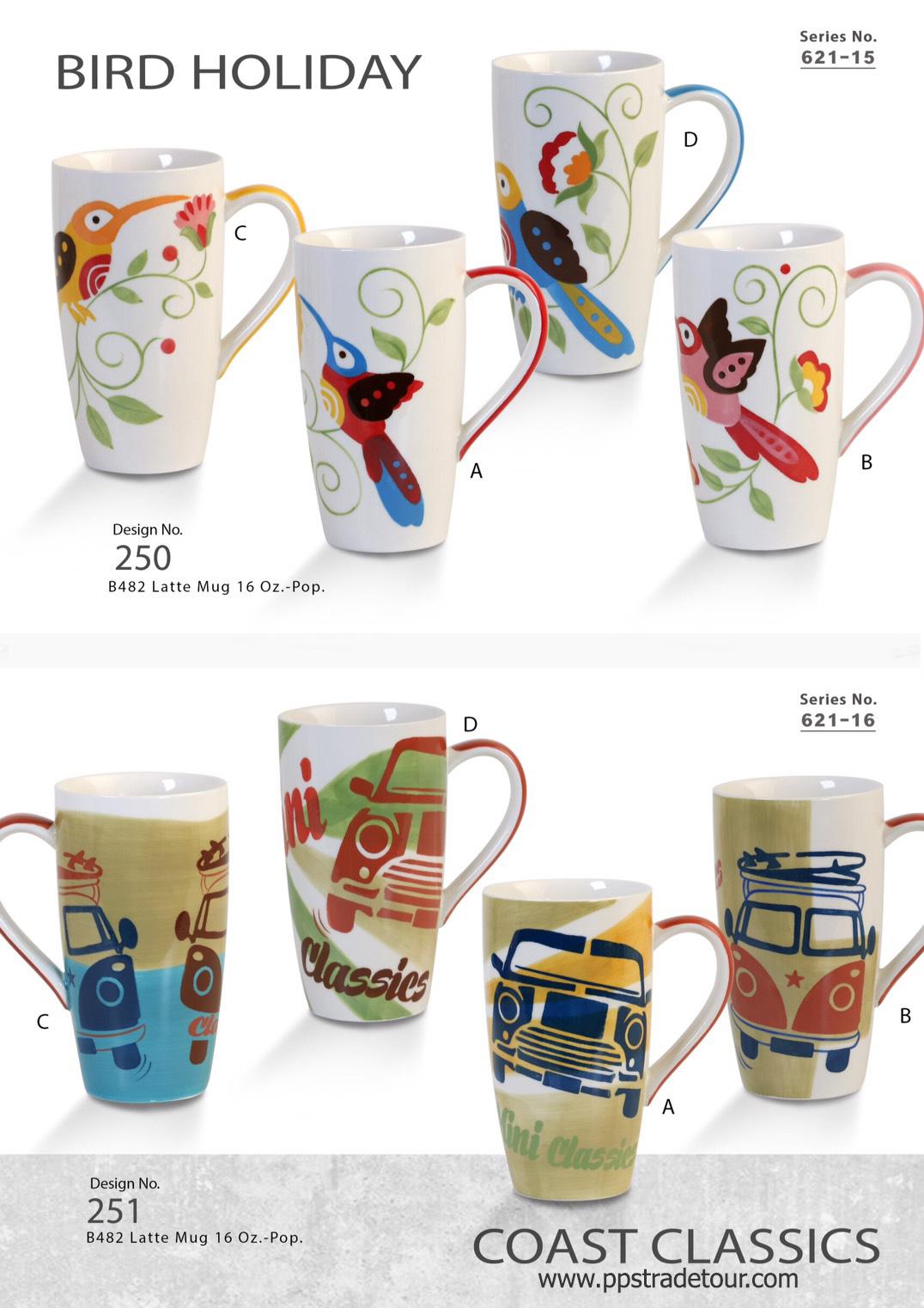 Bird Holiday-Ceramic Mug 16 Oz.